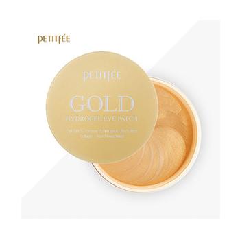 Гидрогелевые пачти с золотом 5 омолаживающих компонентов Petitfee Gold Hydrogel Eye Patch (60 шт)