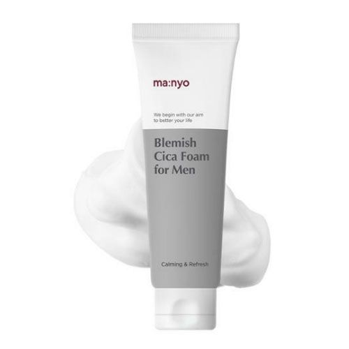 Мужская пенка для лица с центеллой Manyo Blemish Cica Foam For Man 120 ml
