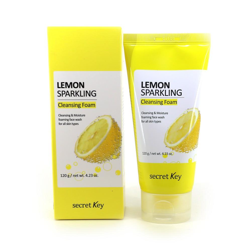 Пилинг для лица Secret Key Lemon Sparkling Peeling Gel - купить за 750 руб в интернет магазине Корея Рядом