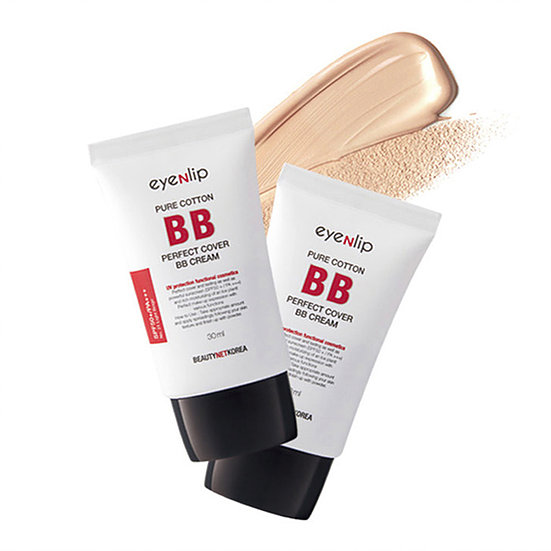 Матирующий ББ крем Eyenlip Pure Cotton Perfect Cover BB Cream