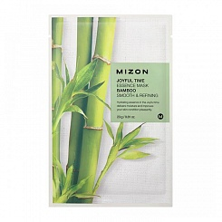 Тканевая маска для лица с экстрактом стебля бамбука Mizon Joyful Time Essence Mask - Bamboo