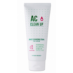 Пенка для проблемной кожи AC Clean Up Daily Acne Cleansing Foam Etude House