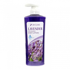 Лосьон для тела 3W Clinic Relaxing Body Lotion Lavender 550 мл