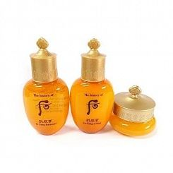 Набор люкс для ухода за кожей The History of Whoo Gongjinhyang Special Gift Set 3 Items