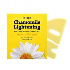 Гидрогелевая маска для лица экстрактом ромашки Petitfee Chamomile Lightening Hydrogel Face Mask