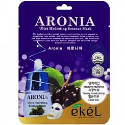 Маска тканевая для лица с аронией EKEL Mask Pack Aronia 23 гр