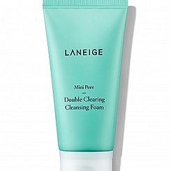 Пенка для расширенных пор LANEIGE Mini-Pore Double Clearing Cleansing Foam