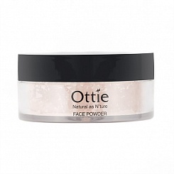 Рассыпчатая пудра для лица Face Powder Ottie