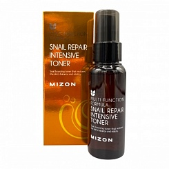 Тонер для лица с муцином улитки MIZON Snail Repair Intensive Toner Mini 50 мл