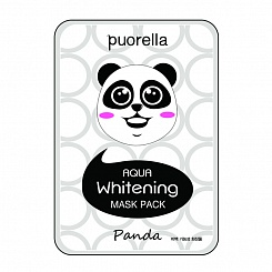 Осветляющая маска панда Aqua Whitening Mask Pack-Panda