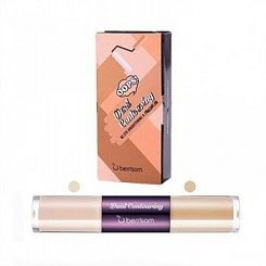 Консилер для кожи вокруг глаз Berrisom Oops Dual Contouring Eye Brightening and Concealer #02