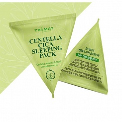 Ночная маска для лица с центеллой TRIMAY Centella Cica Sleeping Pack 3 гр