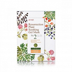 Маска д/лица тканевая ИЕРИХОНСКАЯ РОЗА Resurrection Plant Soothing Gel Mask, 30 гр PETITFEE